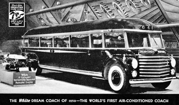 The Count Sakhnoffsky Designed 1936 White Dream Coach