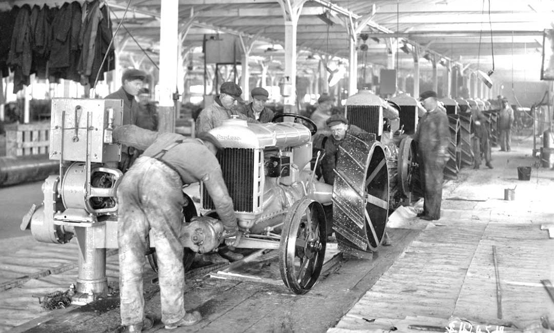 1919 Fordson Tractor assembly line