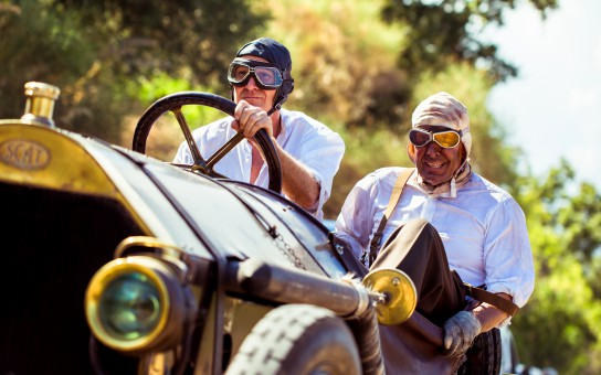 Pistons, Passions, Pleasures - A Sicilian Dream a movie about the Targa Floria races.
