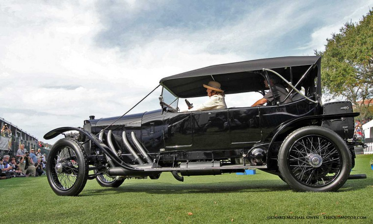 1913 Mercedes - Model 37/95 - Double Phaeton-Torpedo