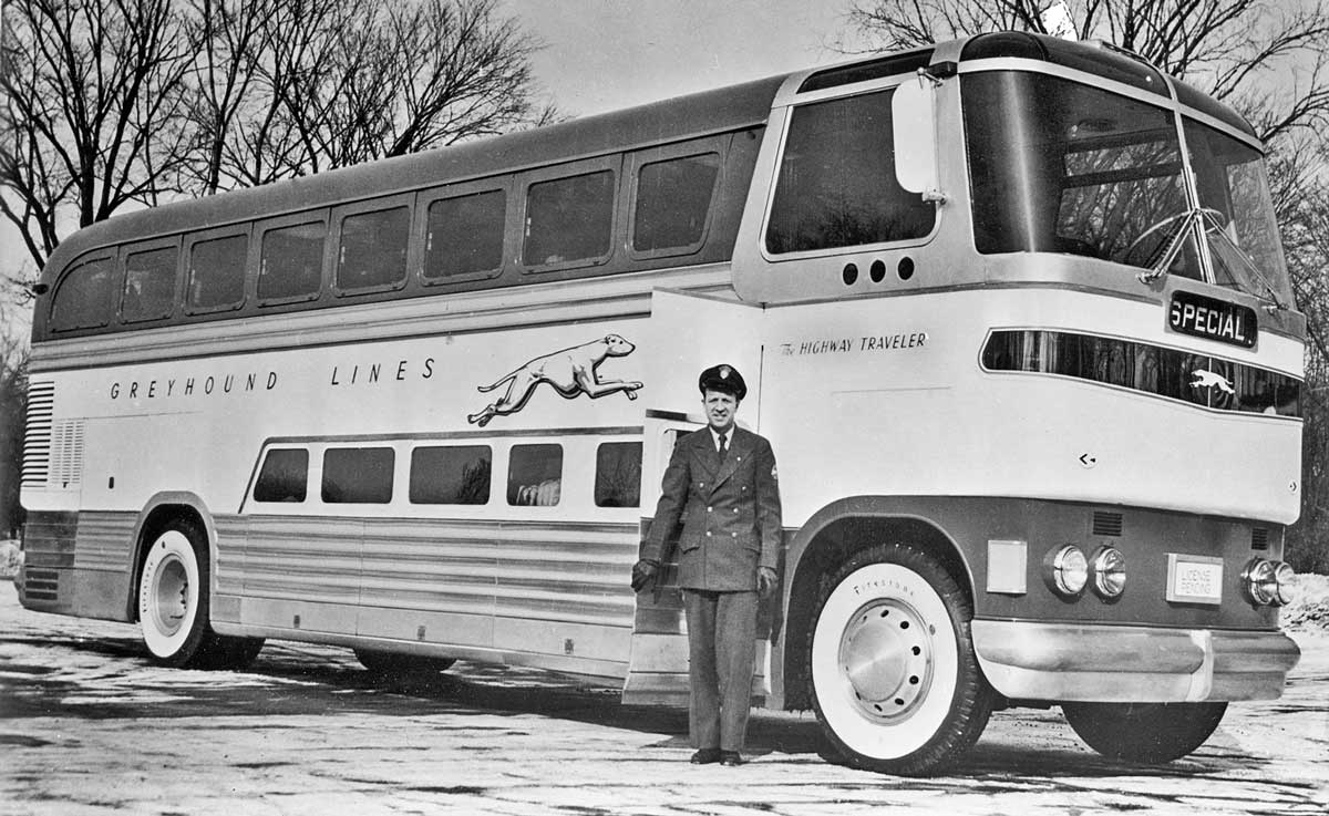 Go Greyhound – Photos And Film Of The Bus Line Part II | The
