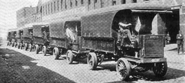 Vintage Old Antique Alco Motor Trucks