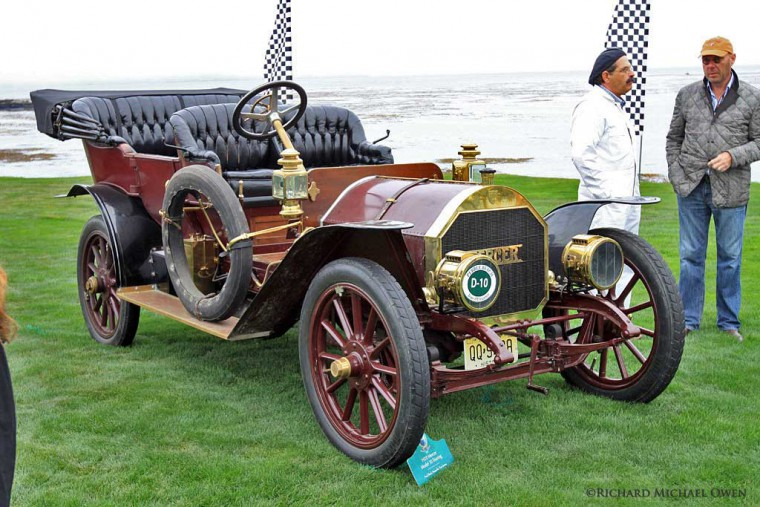 1910 Mercer Touring Car 2012 Pebble Beach Concours