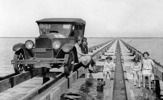 Colonel Sam Robertson's Don Patricio Causeway to Padre Island