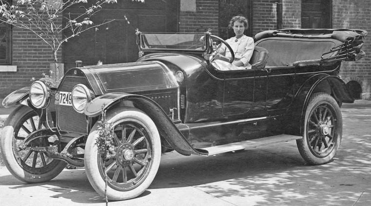 1914 Speedwell touring car
