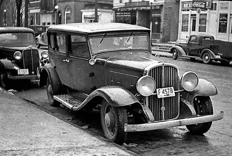1930 or 1931 Franklin Sedan