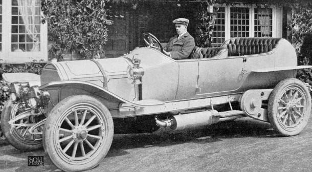 Gordon Watney 1909 Mercedes special