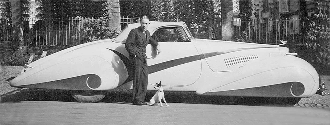Big car, little dog – Philippe Barraud and his Jack Russell Terrier ...