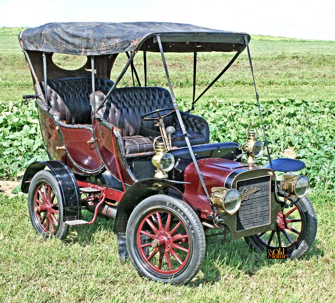 For Sale: 1906 Cadillac Model M Double Tulip Touring Car | The Old Motor