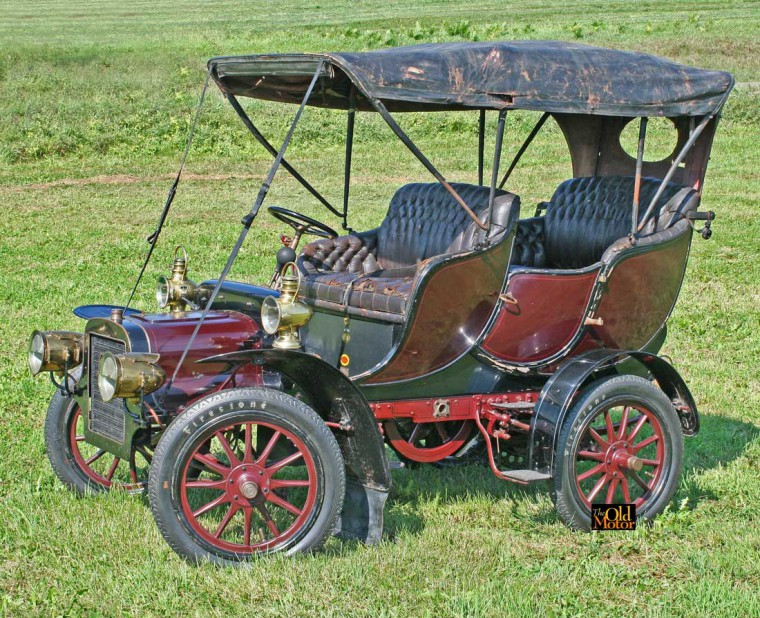1906 Cadillac Model K: For Sale: 1906 Cadillac Model M Double Tulip Touring Car