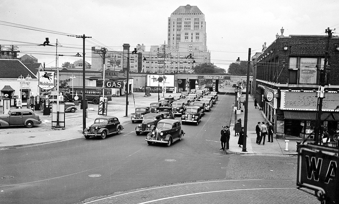 The Streets Of Chicago 1930s Traffic Scenes In The Big