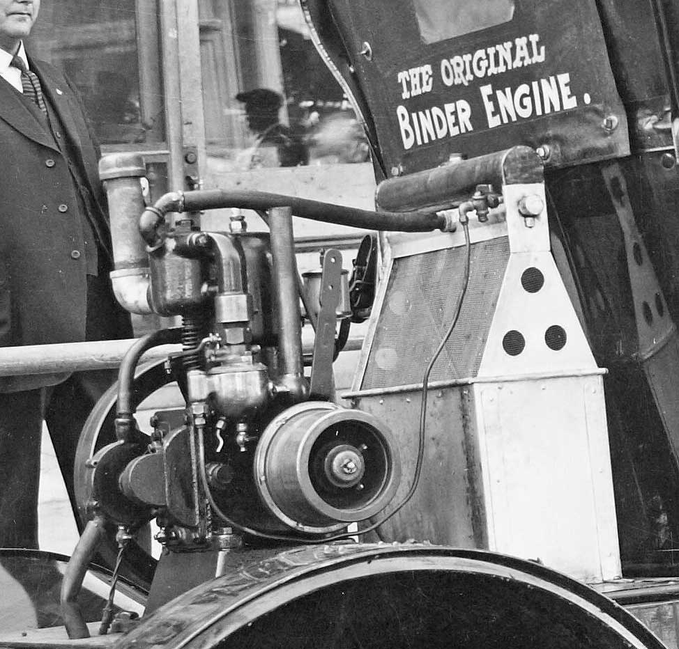 Salesman's Model T Ford Carries a Cushman Demo Engine | The