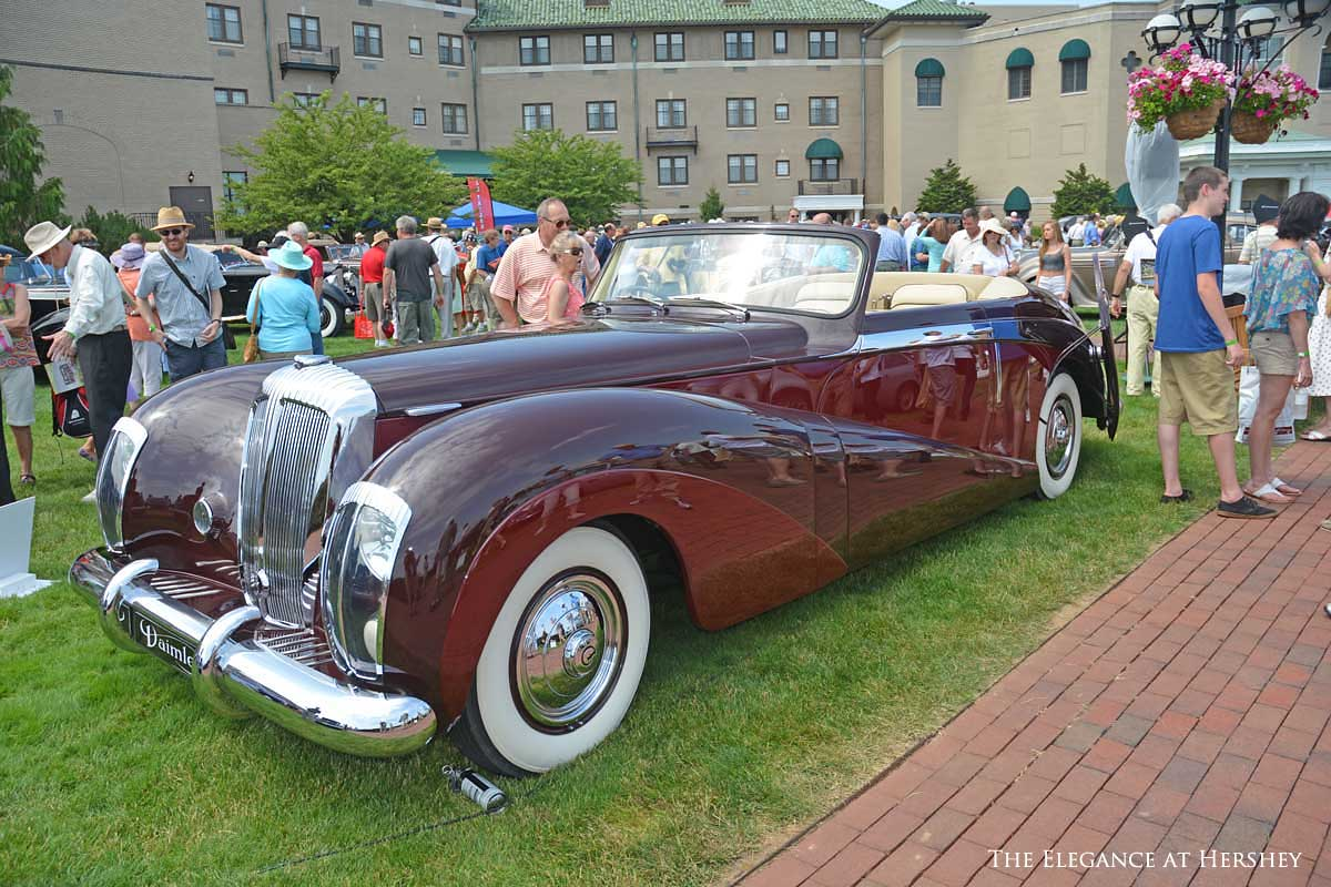 The 2015 Elegance at Hershey – Fine Cars in Chocolate Town | The Old ...