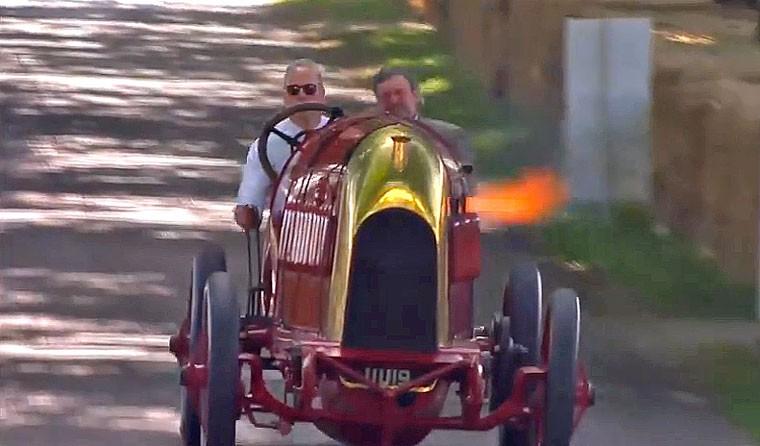 2015 Goodwood Festival of Speed Beast of Turin S76 Fiat
