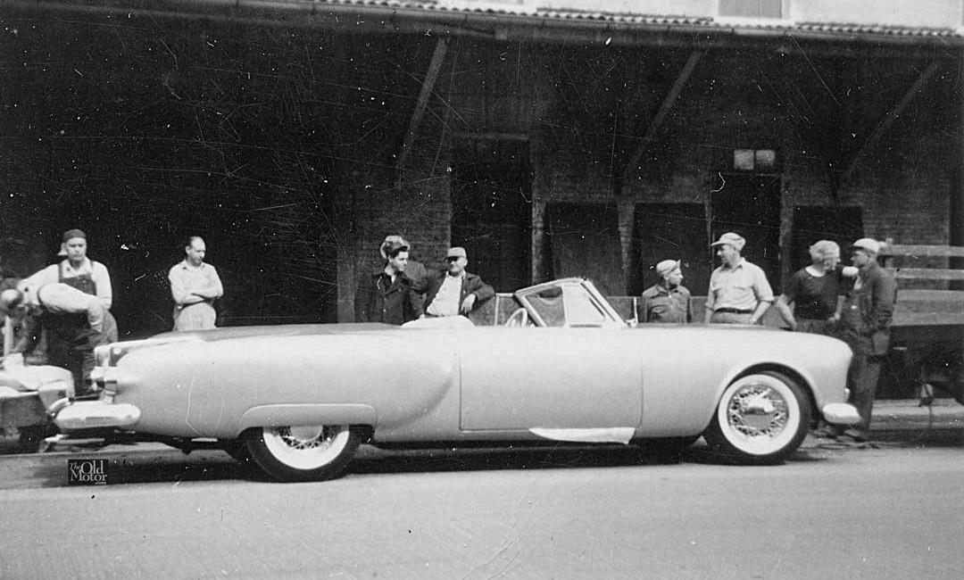 1952 Packard Pan American Showcar