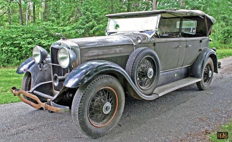 """1930 Model """"L"""" Lincoln"""