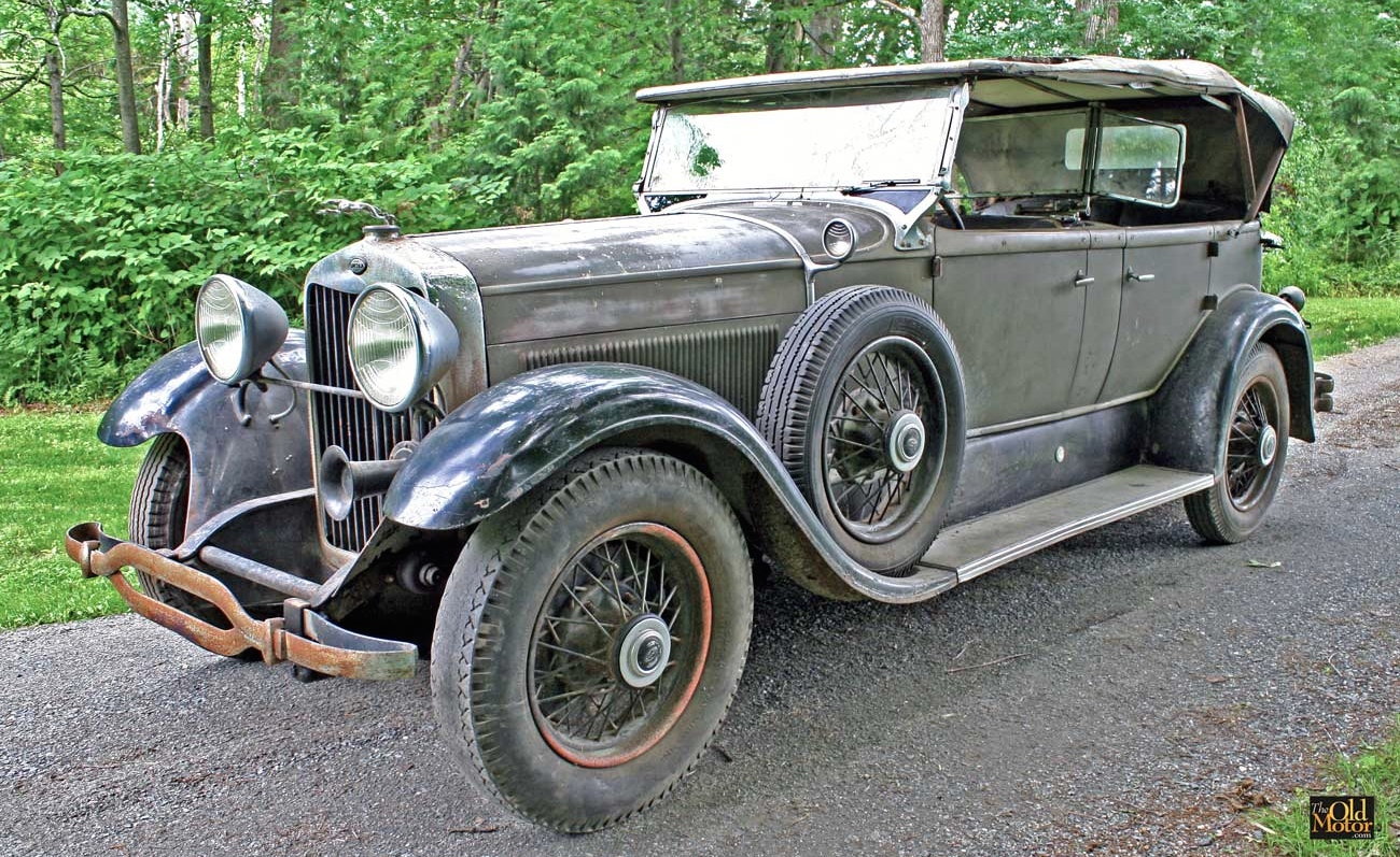 For Sale: Barn Fresh 1930 Lincoln Sport Phaeton | The Old Motor