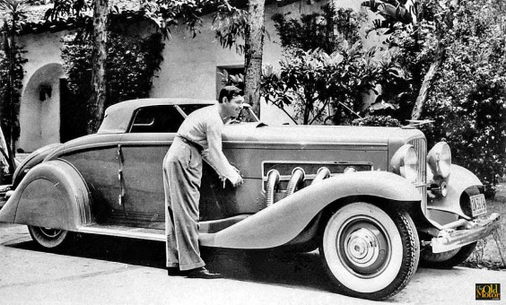 1935 Duesenberg roadster Clark Gable