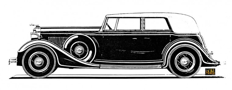 1934 Lincoln Bohmna & Schwartz design by E.W. Miller