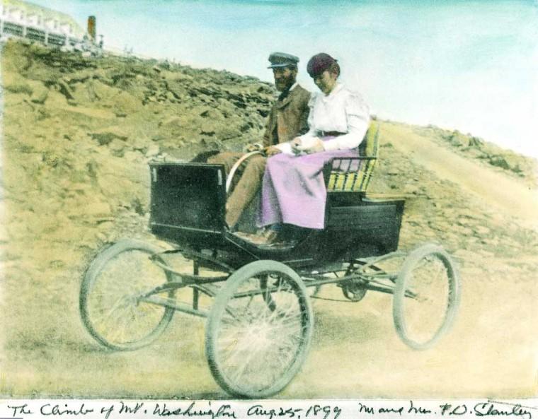 1899 Mount Washington climb in a Locomobile Steam Car