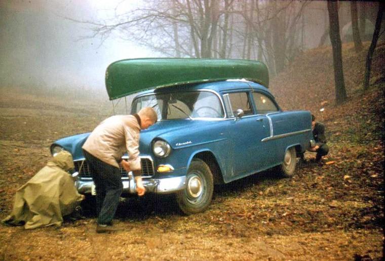 1955 Chevrolet two door