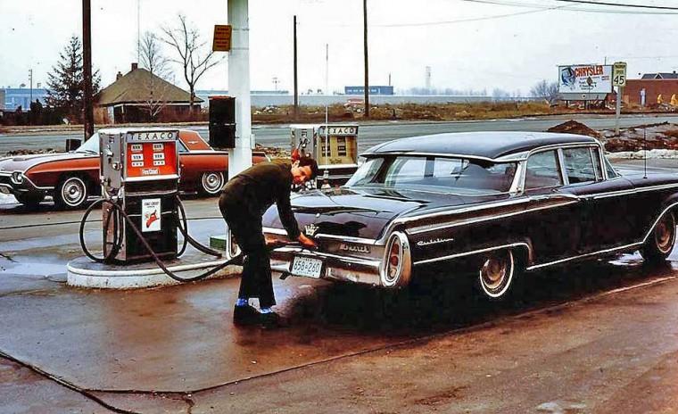Monarch Sedan and a Thunderbird