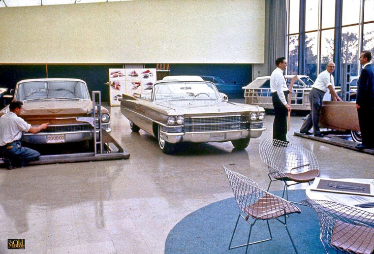 General Motors Innovative Cadillac Styling Section Warren MI 1963