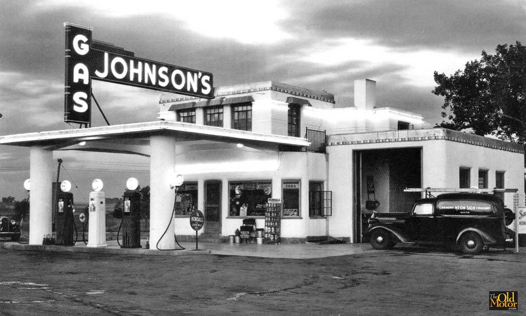 Johnson S Corner 1930s Filling Station To Be Saved The