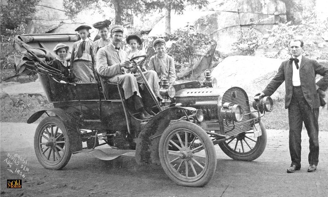 Tall Man George Russell Kersey's 1906 Rambler