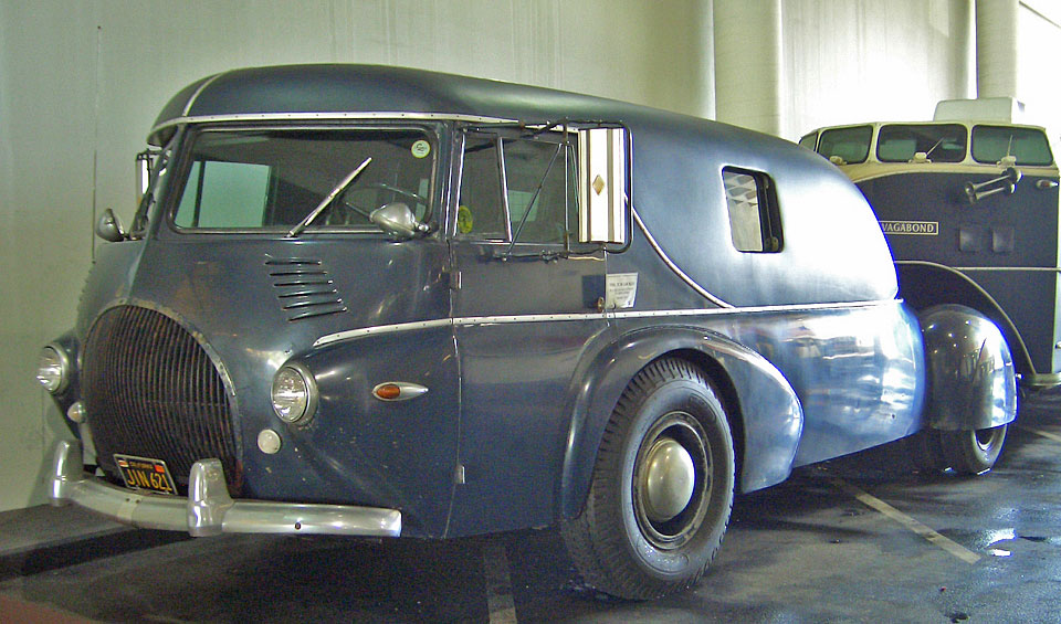 A Sensational Streamlined 1938 Reo Tractor and Curtiss