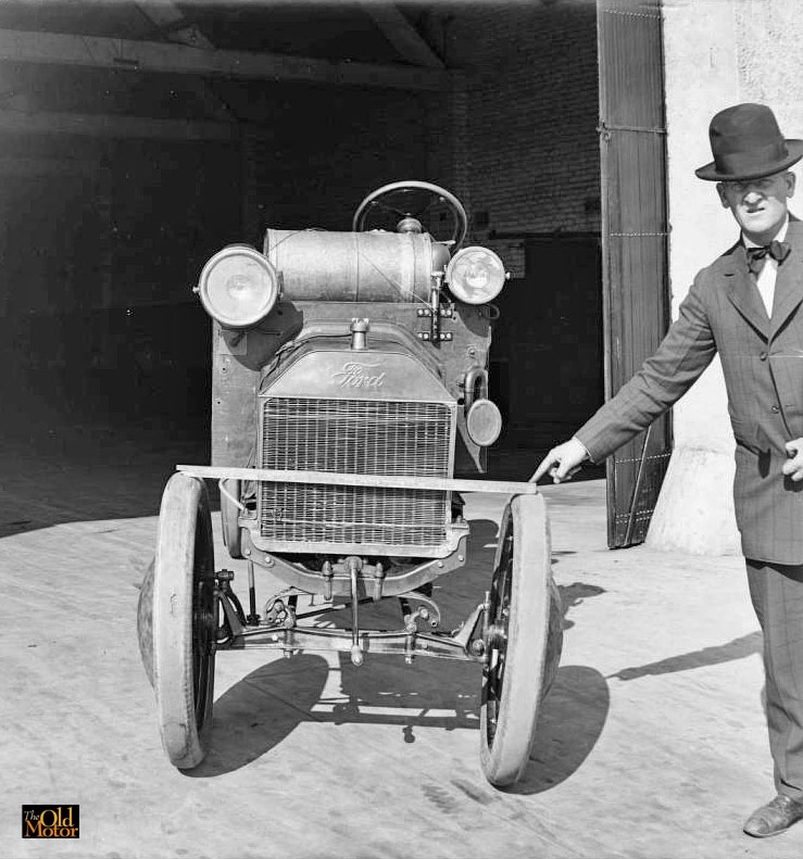 The World S Narrowest Truck A Chain Driven Model T Ford