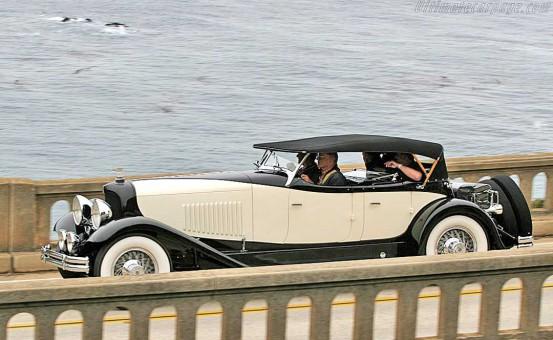 2015 Pebble Beach Concours d'Elegance 1931 Du Pont Dual Cowl Phaeton