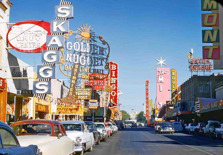 Las Vegas Strip 1957