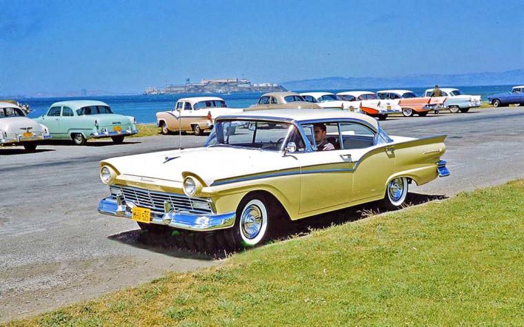 1957 Ford Alcatraz Island San Francisco Oakland CA