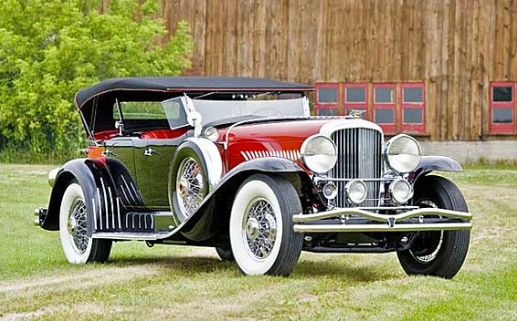 "William ""Billy"" Rose and Max Baer's 1932 Duesenberg Model ""J"" LeBaron Sweep-Panel Dual Cowl Phaeton"