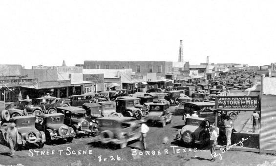 Texas Oil Rush in the Boom Town of Broger