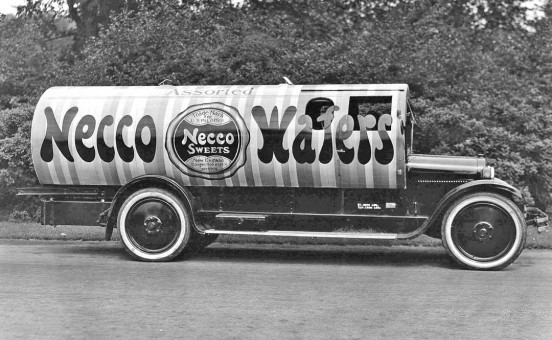 1920s Necco Wafers Dodge Product Mobile Truck