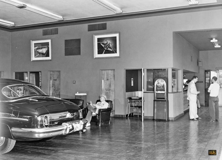 1950 Lincoln - Mercury Service Department