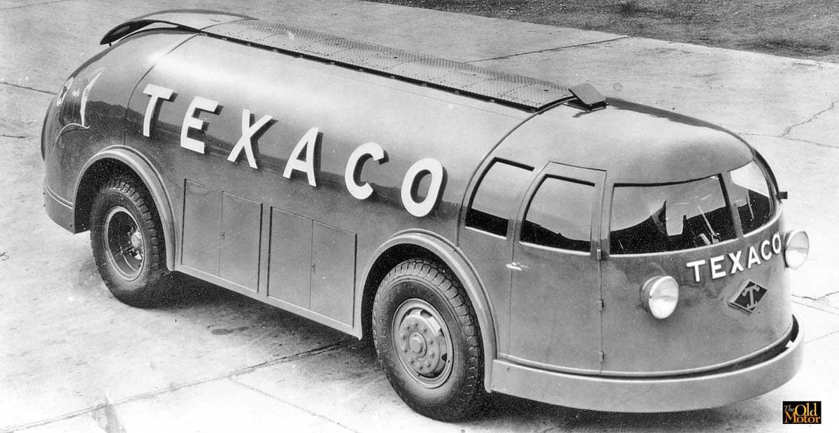 Texaco\'s Futuristic Streamlined Doodlebug Tank Trucks | The Old Motor