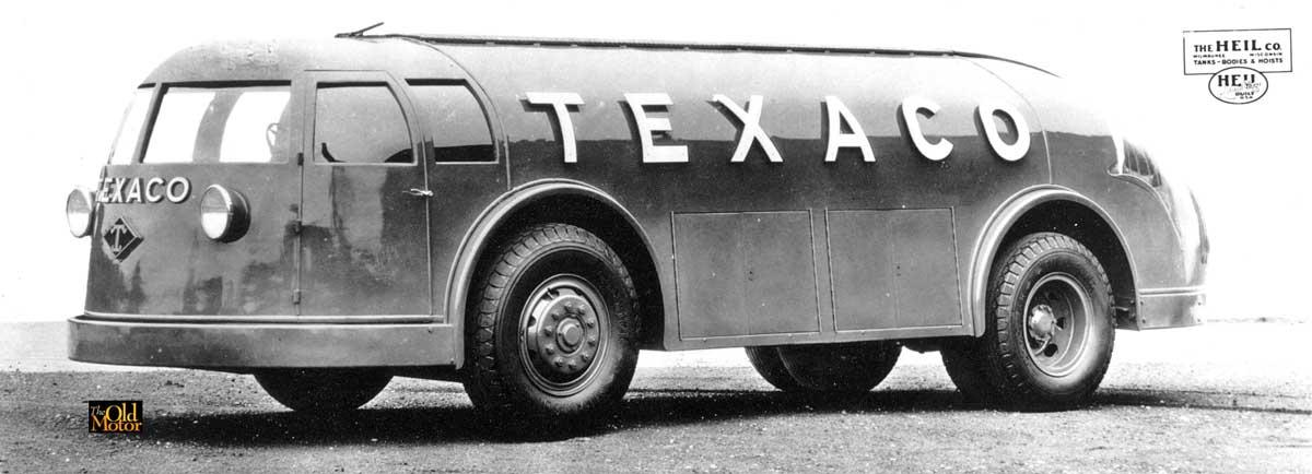 Texaco\'s Futuristic Streamlined Doodlebug Tank Trucks   The Old Motor