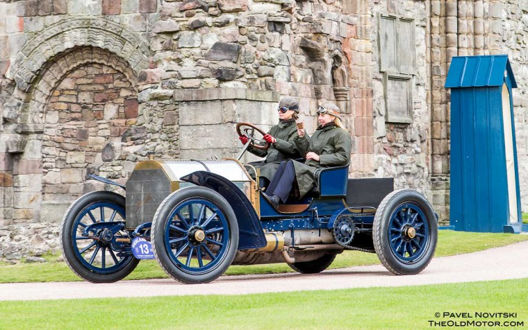 1903 Mercedes 60HP Simplex Besy of show winner at the 2015 UK Concours of Elegance