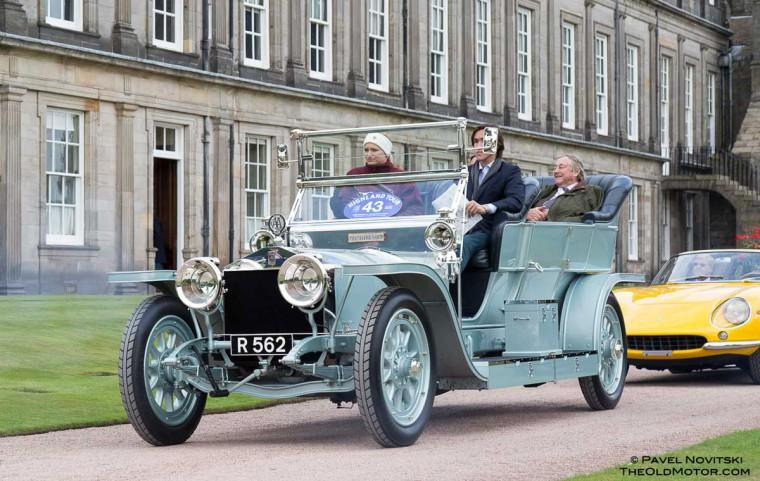 1908 Rolls-Royce Silver Ghost Barker Roi des Belges Tourer