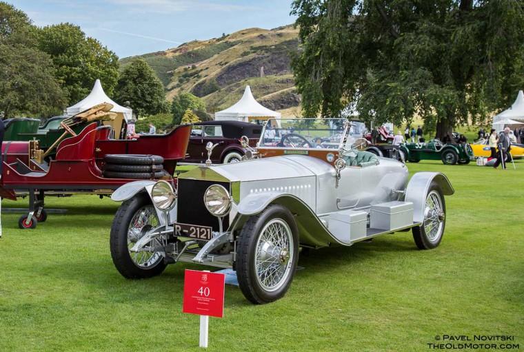 1912 Rolls-Royce Silver Ghost Grosvenor London to Edinburgh