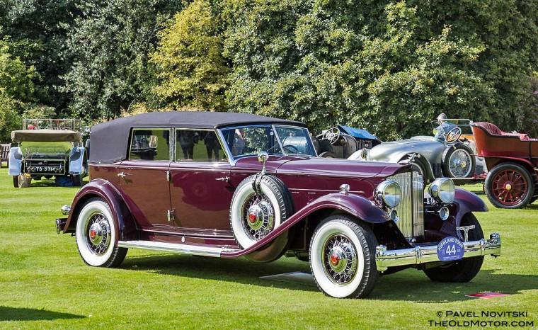 1932 Packard Twin Six Dietrich Individual Custom Convertible Sedan