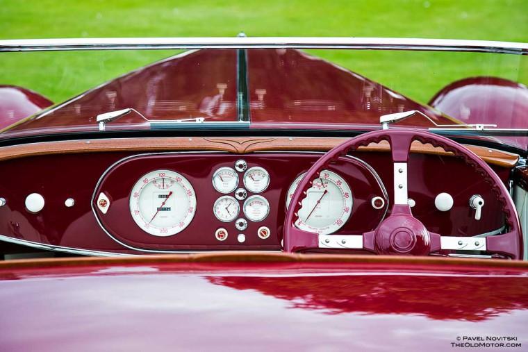 1936 Delage D60-70 Milord Figoni et Falaschi Cabriolet