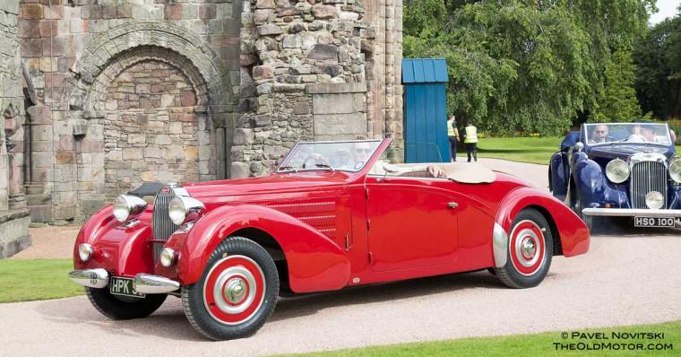 1938 Bugatti Type 57C Gangloff Two-Seater Drophead Coupe