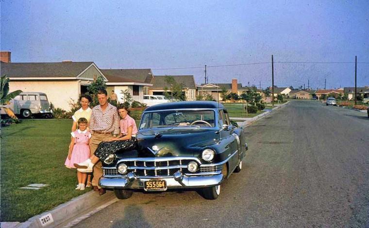 1950s Cadillac Sedan
