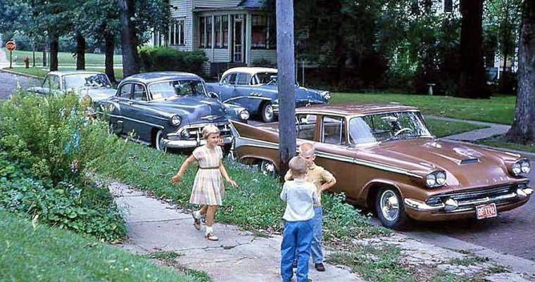 1953 Chevrolet 1958 Studebaker