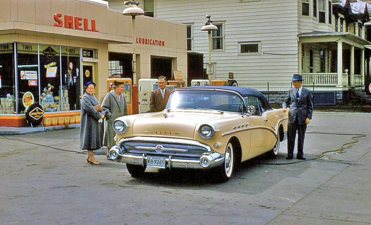 1950s Buick Convertible