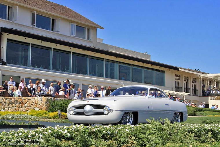 1953 Abarth 205A 1100 Sport with Ghia Coachwork 2015 Pebble Beach Concours d'Elegance